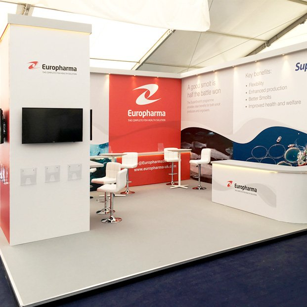 Exhibition Display design for Europharma