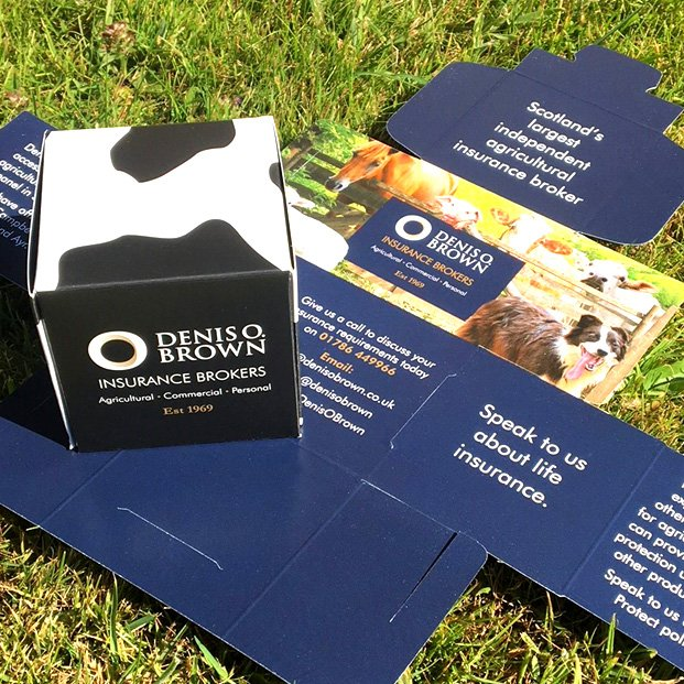 Promotional item for the Royal Highland Show designed for Denis O. Brown