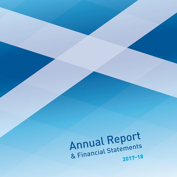 Design of annual report for Water Industry Commission for Scotland