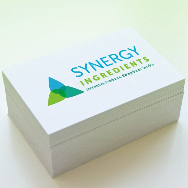 Logo and business card design for Synergy Ingredients