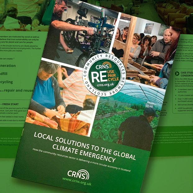 Report design for CRNS