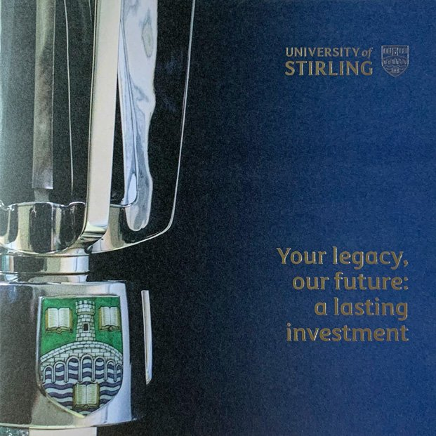 Brochure design for University of Stirling